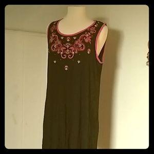 Comfortable Sleeveless Summer Dress